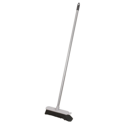 "BM11S Sealey Broom 11""(280mm) Soft Bristle Indoor Use [Janitorial]"