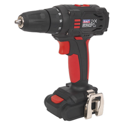 CP14VLD Sealey Cordless Lithium-ion 10mm Drill/Driver 14.4V 1.3Ah 2-Speed Drills