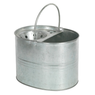 BM08 Sealey Mop Bucket 13ltr Galvanized [Janitorial]