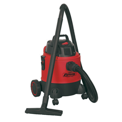 PC200 Sealey Vacuum Cleaner Wet & Dry 20ltr 1250W/230V [Vacuum Cleaners]