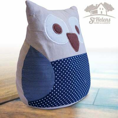 UKDJ Home Office Indoor Sturdy Secure Animal Door Stop Stopper Owl Hooting Style
