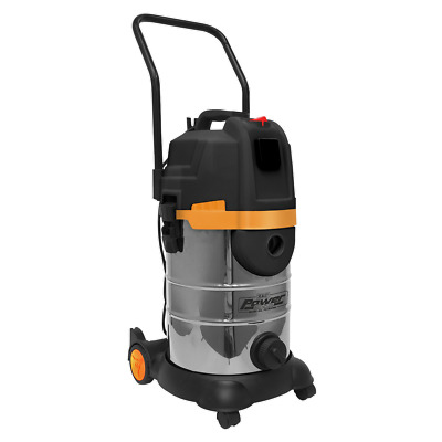 PC300BL Sealey Vacuum Cleaner Cyclone Wet & Dry 30ltr 1400W/230V Vacuum Cleaners