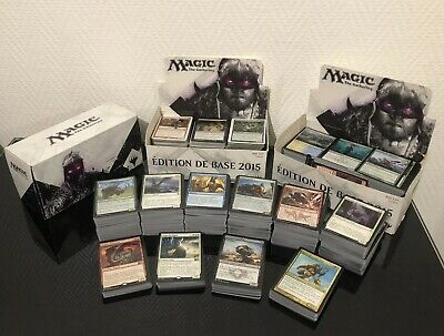 Lot 1000 Carte Magic the gathering tout bloc anglais 20 rare peu commune/commune