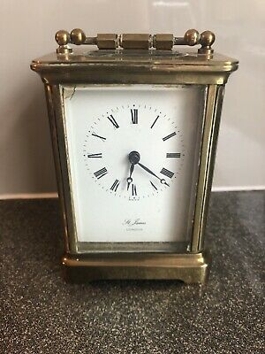 St James Of London Carriage Clock. Working