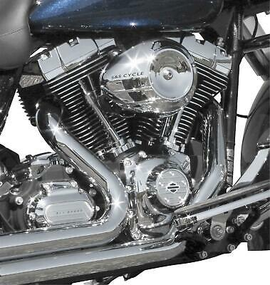 S And S Cycle Stealth Air Cleaner Covers, Chrome 170-0118