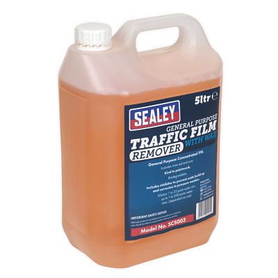 SCS003 Sealey TFR Detergent + Wax Concentrated 5ltr [Detergents] [Consumables]