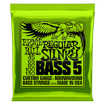 Ernie Ball Regular Slinky Bass 5 Strings 45-130 2836