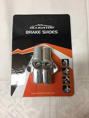 Aican Campy Campagnolo brake pads shoes insert holder silver 1 pc vs Kool stop