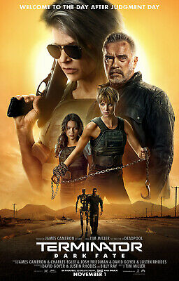 Terminator Dark Fate - original DS movie poster - 27x40 D/S FINAL