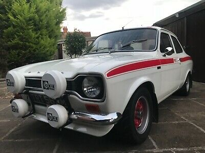 Ford Escort Mexico, 1973, A Lovely Example Of A Classic Mk1 Avo
