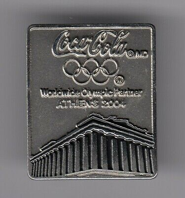 Rare Pins Pin's .. Coca Cola Coke Olympique Olympic Athenes Athens 2004 3D ~19
