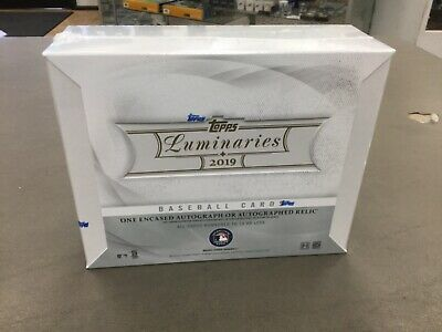 2019 Topps Luminaries Baseball Factory Sealed Hobby Box