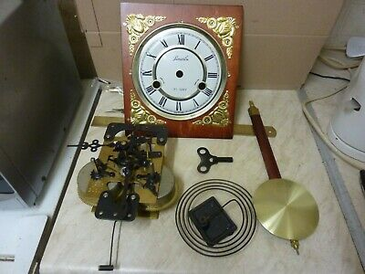 Modern Lincoln 31 Day Striking Movement-Dial-Pendulum-Gong--Key-