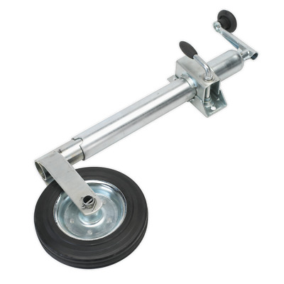 TB37 Sealey Jockey Wheel & Clamp Ø50mm - 200mm Solid Wheel [Towing Accessories]
