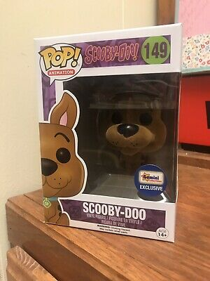 Funko Pop! Gemini Collectibles Exclusive Flocked Scooby Doo