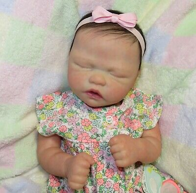 Reborn Baby Girl~Leah~Nikki Johnston, Trouble Sculpt, LE