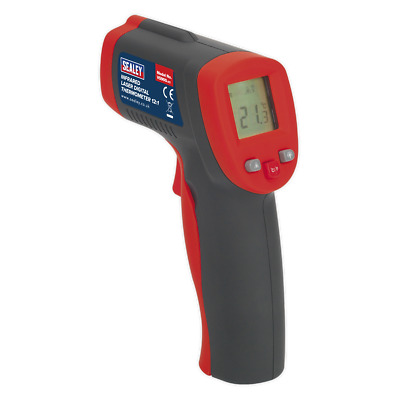 VS900 Sealey Infrared Laser Digital Thermometer 8:1 [Engine]