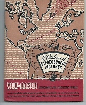 View-master Catalogue of Stereoscopic Pictures Reels Revised February 1947