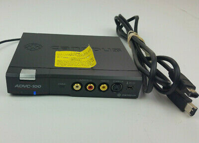Canopus ADVC-100 Analog to Digital Video Converter Tested w/Power and Firewire