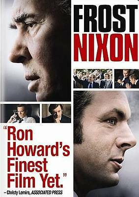 Frost/Nixon (DVD, 2009) VERY GOOD