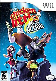 Disney's Chicken Little: Ace in Action (Nintendo Wii, 2006)