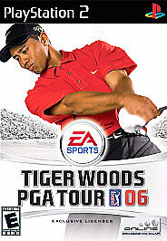 Tiger Woods PGA Tour 06 (Sony PlayStation 2, 2005)G