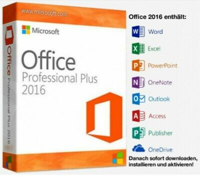 Microsoft Office Professional Plus 2016 Lizenzschlüssel / MS Office 2016 Pro Key