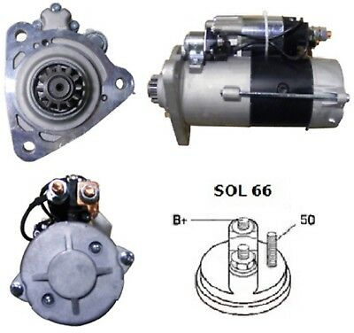 Starter Motor Fits Mercedes Truck Actros Axor Mk I II 24V 6.2Kw From 1996-On