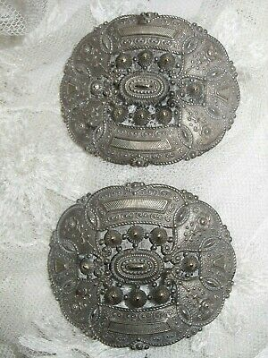 c.Early 1800's Pair of French Shoe Buckles