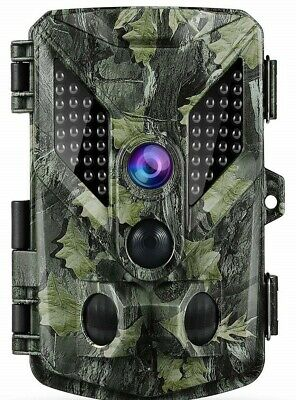 ABASK Trail Camera 16MP 1080P HD Motion Activated Night Vision Wildlife Hunting