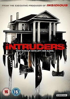Intruders DVD + Limited Edition Lenticular slipcase brand new shrink wrapped