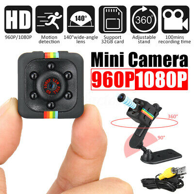 HD 960P/1080P Mini Camera Micro USB Video Hidden Night Vision Motion Detection