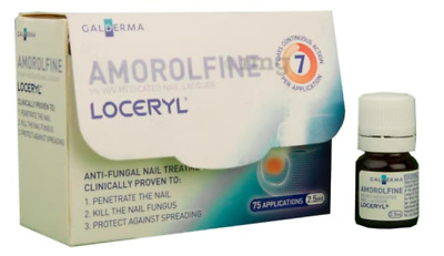 Amorolfine Loceryl Nail Lacquer 2.5ml For Nail Fungus From France Limited offer