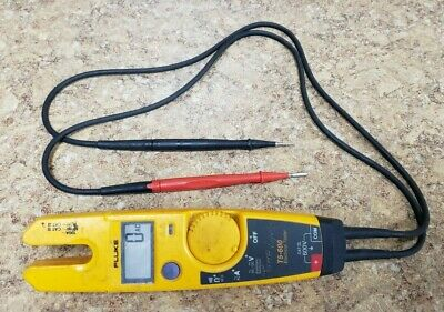 Fluke T5-600 600V Voltage Continuity and Current Tester Pre-owned Free Shipping