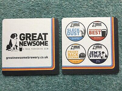 New Great Newsome Brewery Beer Mat Sous Bock