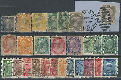 Stamps British Colonies & Territories Stamps Canada Lot used