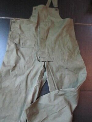 Vintage WW2 US Army Overalls-Canvas Medium 13 star buttons