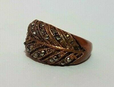 extremely ancient old ring bronze legionary ring bronze rare type