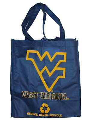 West Virginia Mountaineers Green Forever Blue Reusable Bag (Sold in Lots of 2)