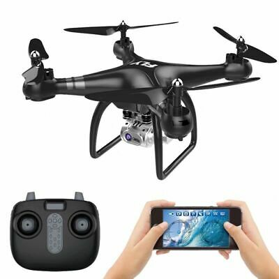 RC Drone Quadcopter With 5MP HD Camera WIFI 6-Axis 4CH Altitude Hold 4DRC
