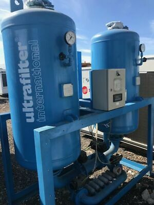Ultrafilter Compressed air dryer  twin tanks excellent condition