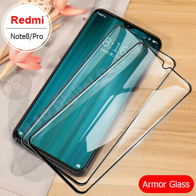 For Xiaomi Redmi Note 8 8 Pro Full Cover Tempered Glass Screen Protector Film UK