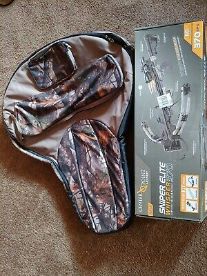Center Point sniper 370 crossbow with soft case (brand new never shot)