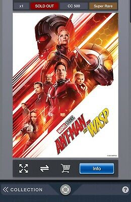 MARVEL STUDIOS TEN YEARS POSTER ANT-MAN AND THE WASP Marvel Collect Digital