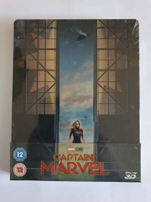 Captain Marvel 3D Blue Ray Steelbook