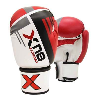 XN8 Boxing Gloves Moti Hide Leather MMA Sparring Punching Bag Muay Thai Training