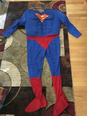 Rubie/'s Official Adult/'s Superman Deluxe Costume UK Large Mens BNIP
