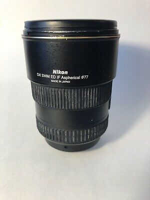 Nikon Lens AF-S Nikkor 17-55 mm 1:2.8 G ED DX SWM IF Asperical 077