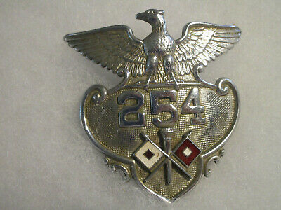 WWII US Army Signal Corps Military Police Cap Hat Badge OBSOLETE
