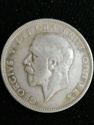 George V One Florin / Two Shilling 1936 Silver Coin